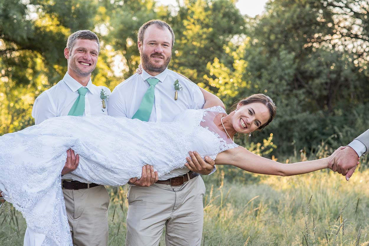 bride and froom Wedding Photos by Mudboots Photography at Leopard and Lace in Bloemfontein