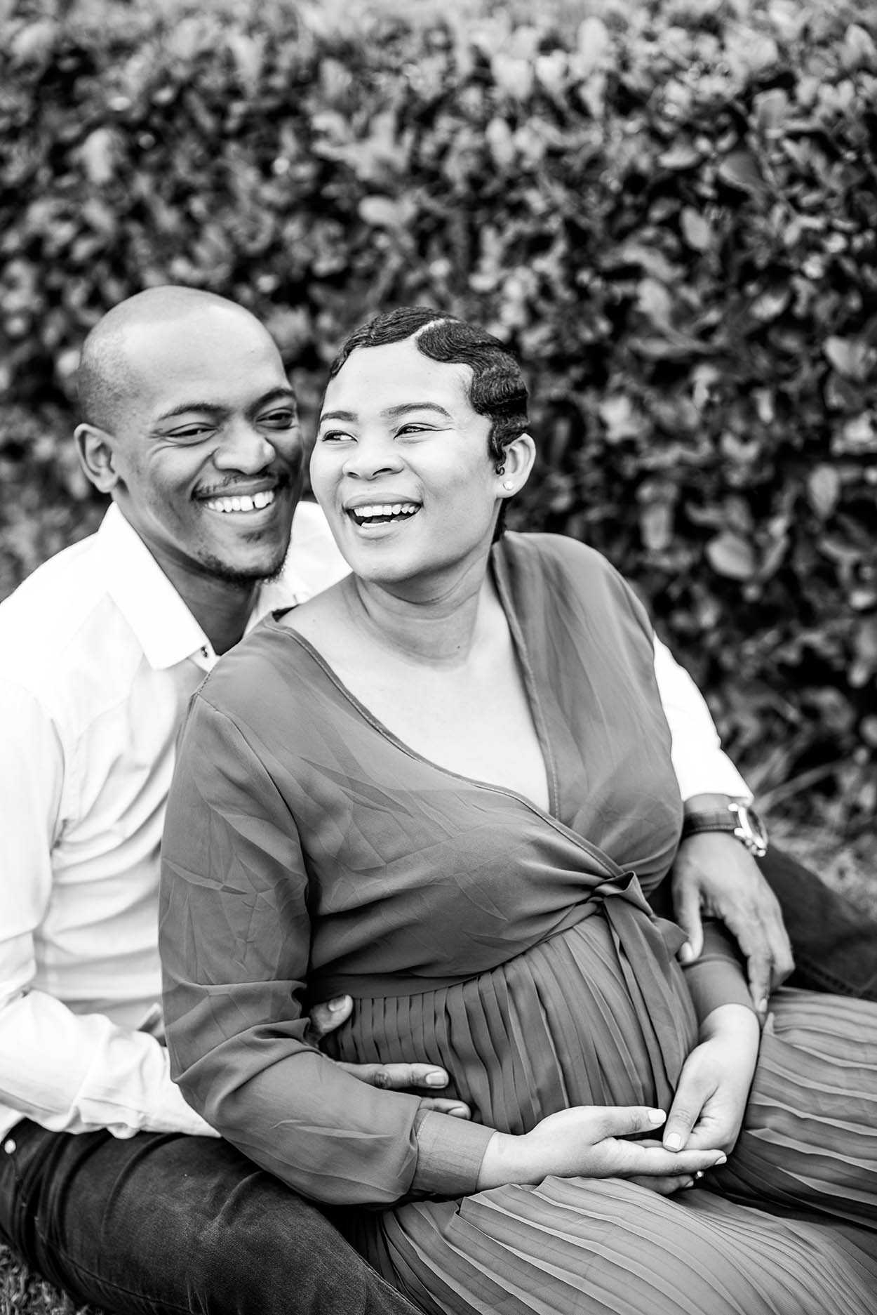 Maternity photo by Mudboots taken at Tuscan Rose in Bloemfontein