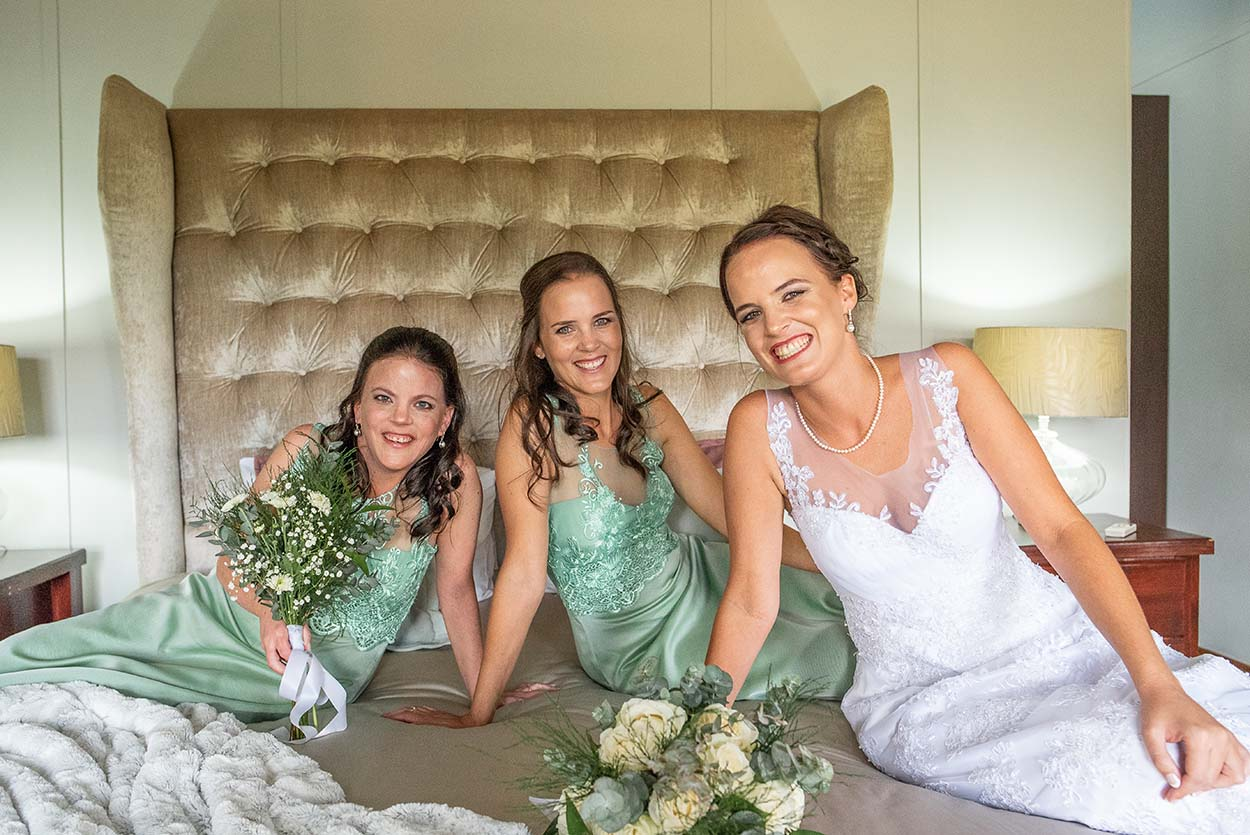 bridemaids Wedding Photos by Mudboots Photography at Leopard and Lace in Bloemfontein reception