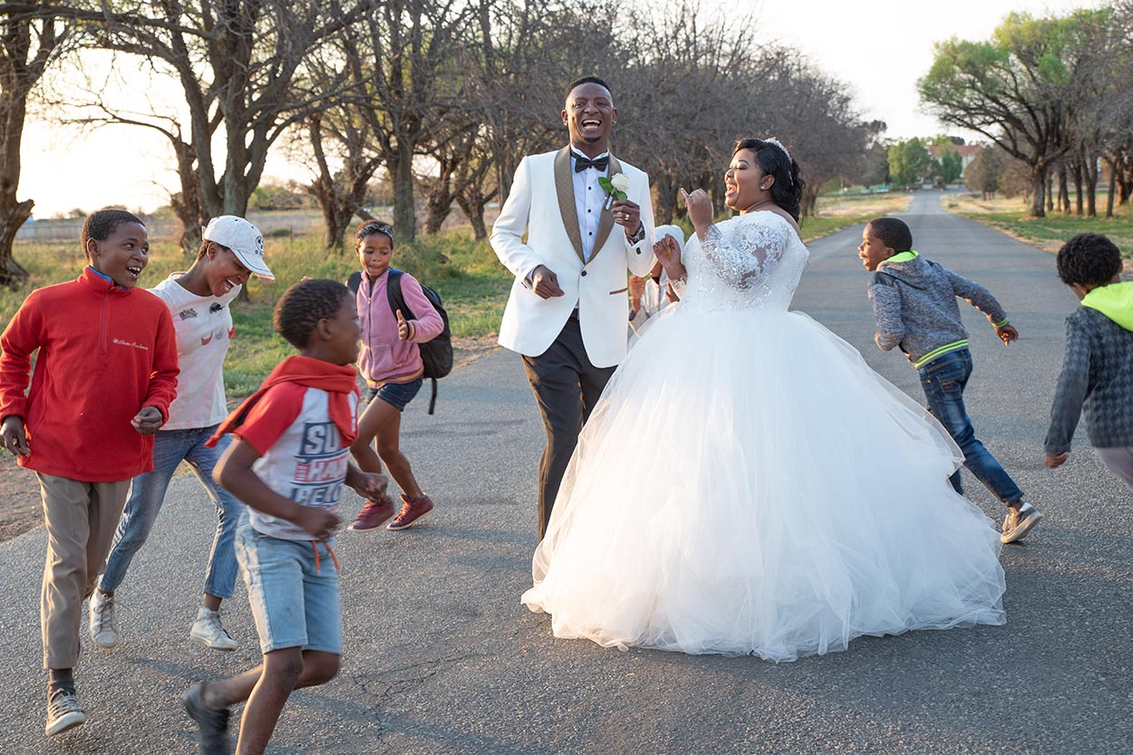 Wedding Palesa & Lungile Sandstone Sleeper Estate Bloemfontein
