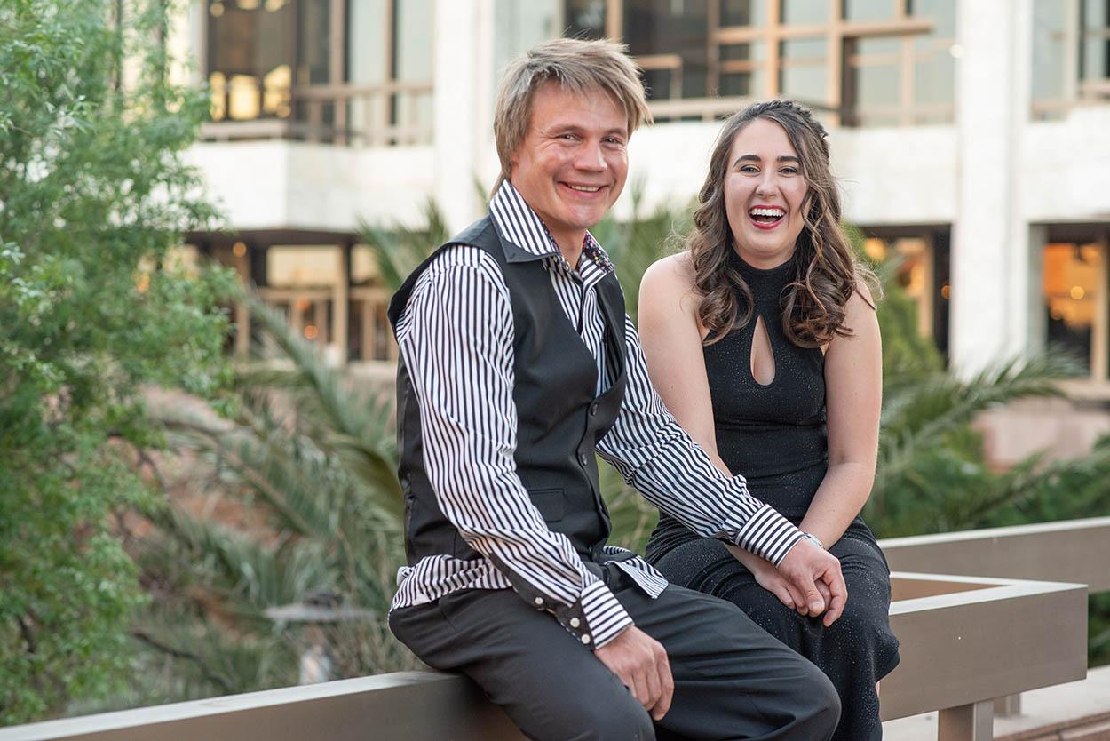Couple LG & Anna Bloemfontein Sand du Plessis Theater