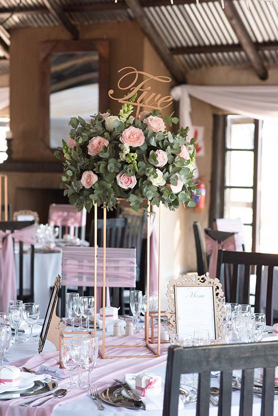 tres jolie wedding venue johannesburg white and pink decor photo by mudboots photography and film