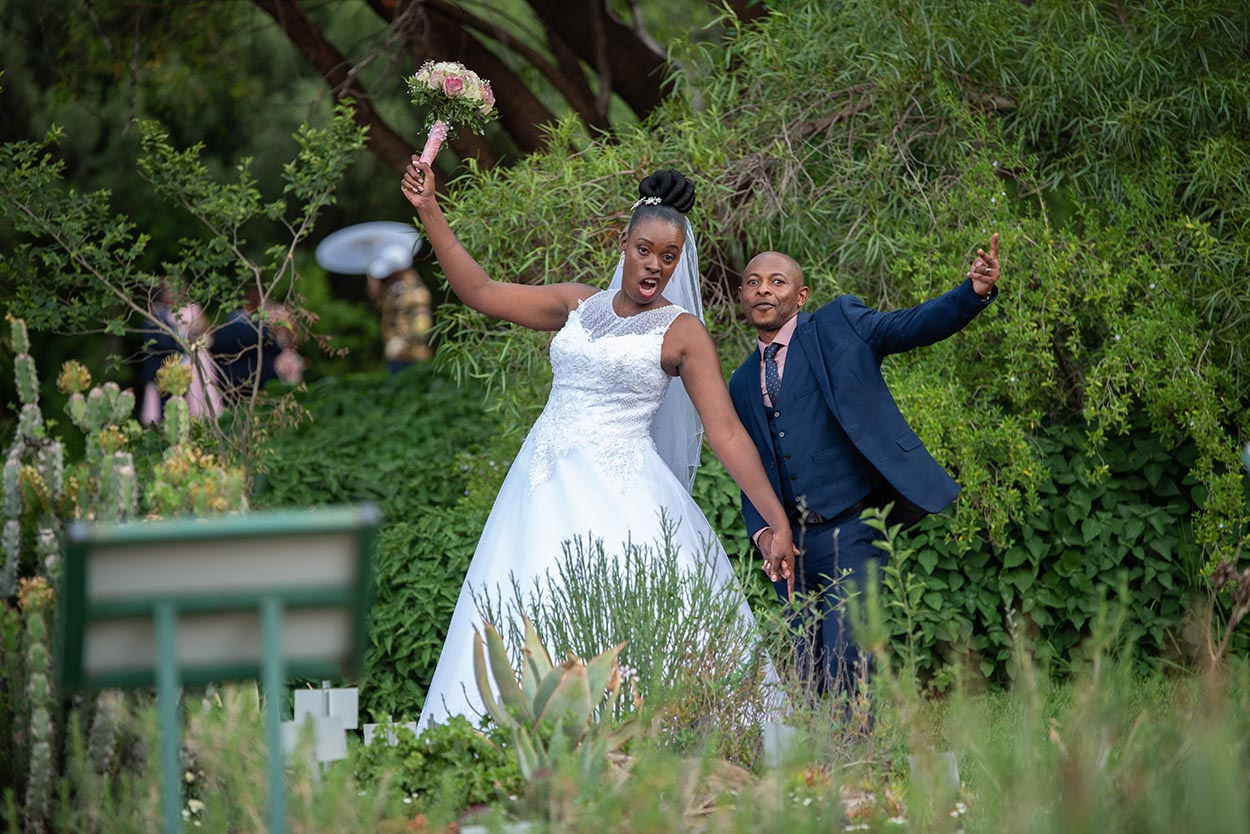 Wedding Jolly & Tumelo Free state Botanical Gardens