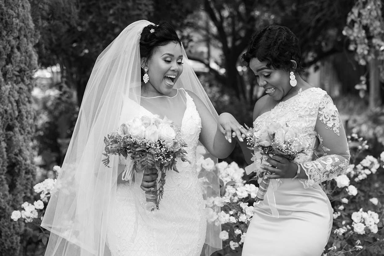 Wedding Relebogile & Nyiko Tuscan Rose Bloemfontein